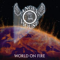 [Angel House World On Fire Album Cover]