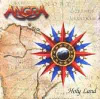 [Angra Holy Land Album Cover]