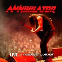 [Annihilator Live at Masters of Rock Album Cover]