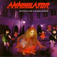 [Annihilator Criteria For A Black Widow Album Cover]