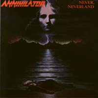 [Annihilator Never, Neverland Album Cover]