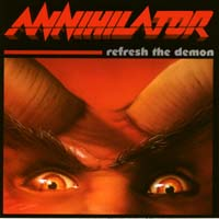 [Annihilator Refresh The Demon Album Cover]