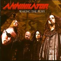 [Annihilator Waking The Fury Album Cover]