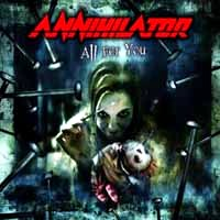 [Annihilator All For You Album Cover]