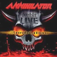 [Annihilator Double Live Annihilation Album Cover]