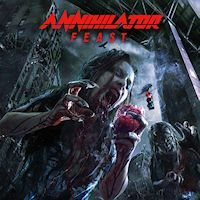 [Annihilator Feast Album Cover]