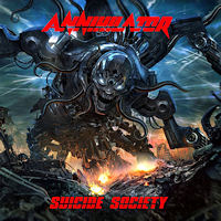 [Annihilator Suicide Society Album Cover]