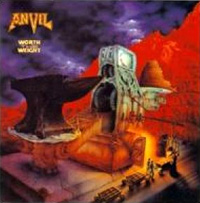 [Anvil Worth The Weight Album Cover]