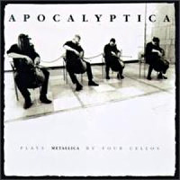 [Apocalyptica Plays Metallica By Four Cellos Album Cover]
