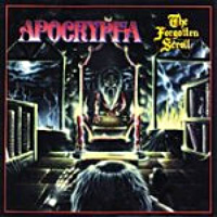 [Apocrypha The Forgotten Scroll Album Cover]