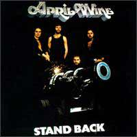 [April Wine Stand Back Album Cover]