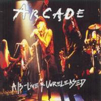 [Arcade A/3 - Live and Unreleased Album Cover]