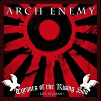 [Arch Enemy Tyrants of the Rising Sun Album Cover]