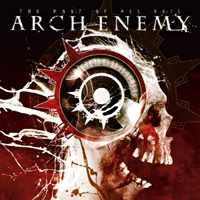 [Arch Enemy The Root of All Evil Album Cover]