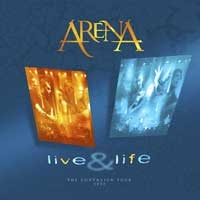 [Arena Live and Life Album Cover]