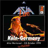 [Asia Live In Koln Album Cover]