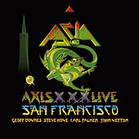[Asia Live in San Francisco Album Cover]