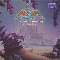 [Asia Different Worlds - Live Album Cover]