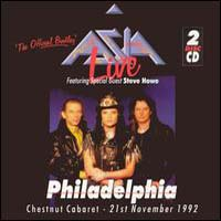 [Asia Live: Philadelphia Album Cover]