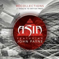 [Asia Recollections: A Tribute To British Prog Album Cover]
