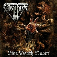 [Asphyx Live Death Doom Album Cover]