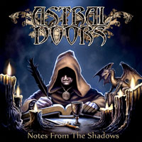 Astral Doors Notes From the Shadows Album Cover
