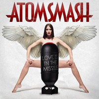 [Atom Smash Love Is In The Missile Album Cover]
