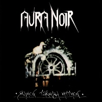 [Aura Noir Black Thrash Attack Album Cover]