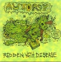 [Autopsy Ridden With Disease Album Cover]
