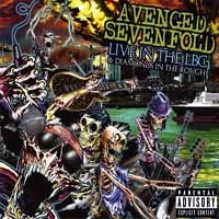 [Avenged Sevenfold Live in the LBC and Diamonds in the Rough Album Cover]