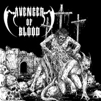 [Avenger of Blood Spawn of Evil Album Cover]