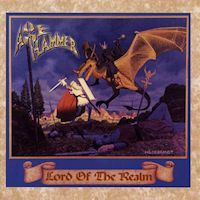 [AxeHammer Lord Of The Realm Album Cover]
