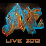 [Axe LIVE 2012 Album Cover]