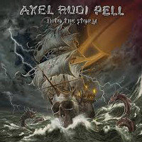 [Axel Rudi Pell Into The Storm Album Cover]