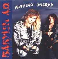 [Babylon A.D. Nothing Sacred Album Cover]