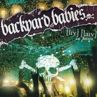 [Backyard Babies Live in Paris Album Cover]