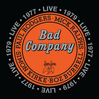 [Bad Company Bad Company Live in Concert 1977 and 1979 Album Cover]