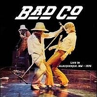 [Bad Company Live in Albuquerque 1976 Album Cover]