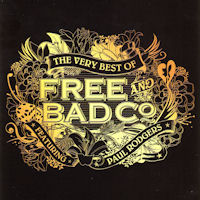 [Bad Company The Very Best Of Free and Bad Company Album Cover]