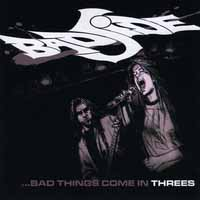 Bad Side Bad Things Come in Threes Album Cover