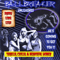 Ballbreaker Daddy Long Legs Album Cover
