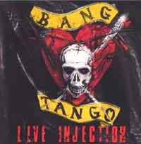 [Bang Tango Live Injection Album Cover]