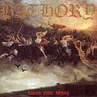 [Bathory Blood Fire Death Album Cover]