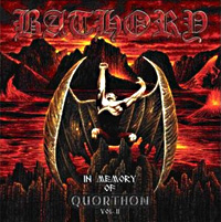 [Bathory In Memory of Quorthon Vol. II Album Cover]