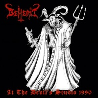 [Beherit At The Devil's Studio 1990 Album Cover]