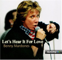 [Benny Mardones Let's Hear It For Love Album Cover]