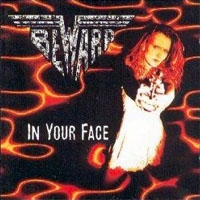 [Bewarp In Your Face Album Cover]