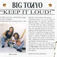 [Big Tokyo Keep It Loud! Album Cover]