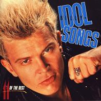 Billy Idol Idol Songs:11 of the Best Album Cover