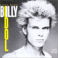 [Billy Idol Don't Stop Album Cover]